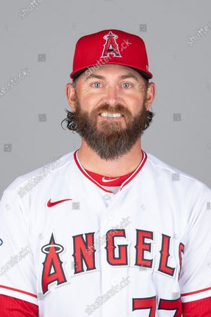 Stock Picture of This is a 2021 photo of Jeremy Reed of the Los Angeles Angels baseball team. This image reflects the Los Angeles Angels active roster as of when this image was taken