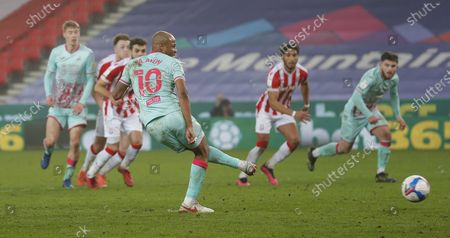 Editorial picture of Stoke City v Swansea City - Sky Bet Championship - 03 Mar 2021