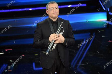Trumpeter Nello Salza plays music by Ennio Morricone