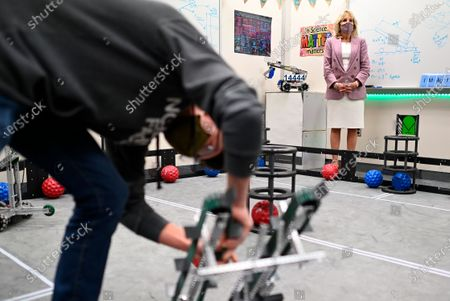 Editorial image of Jill Biden, Waterford, United States - 03 Mar 2021