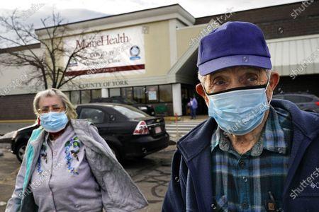 Editorial image of Virus Outbreak Maine, Sanford, United States - 03 Mar 2021