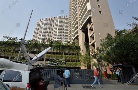 Editorial photo of Income Tax Department Raids Properties Of Taapsee Pannu, Anurag Kashyap, Madhu Mantena Varma, Mumbai, Maharashtra, India - 03 Mar 2021