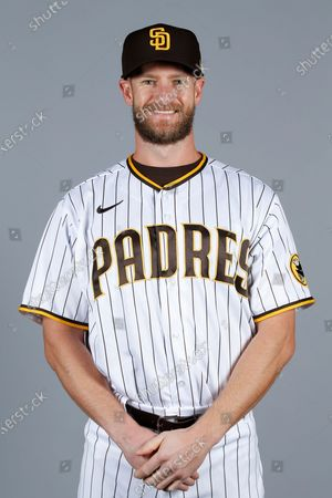This is a 2021 photo of Chase Johnson of the San Diego Padres baseball team. This image reflects the San Diego Padres active roster as of when this image was taken