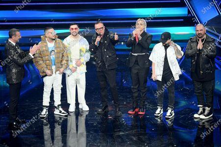 Editorial picture of 71st Sanremo Music Festival, Sanremo, Italy - 03 Mar 2021