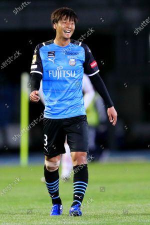 Koki Tsukagawa (Frontale) - Football / Soccer :  2021 J1 League match between  Kawasaki Frontale 3-2 Cerezo Osaka  at Kawasaki Todoroki Stadium, Kanagawa, Japan.