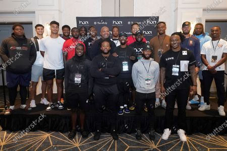 Editorial photo of House of Athlete Scouting Combine, Plantation, United States - 03 Mar 2021