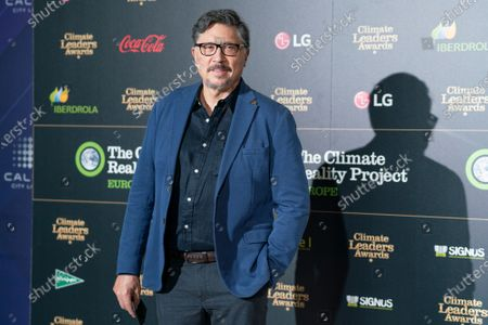 Actor Carlos Bardem attends the Climate Leaders Awards 2021 at the Callao cinema.