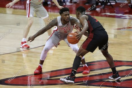 Editorial image of San Diego St UNLV Basketball, Las Vegas, United States - 03 Mar 2021