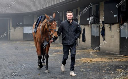 Chris Hughes and racehorse Annie Mc. TV personality and Coral ambassador Chris Hughes has this week launched a prize draw which gives Coral customers the chance to own a share of the Coral Champions Club mare, Annie Mc, when she lines up in the inaugural Mares' Chase at the Cheltenham Festival later this month 2021. There is no maximum number of entries per customer and the prize draw will take place at 09:00 on Monday 15th March.
