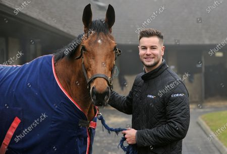 Stock Picture of Chris Hughes and racehorse Annie Mc. TV personality and Coral ambassador Chris Hughes has this week launched a prize draw which gives Coral customers the chance to own a share of the Coral Champions Club mare, Annie Mc, when she lines up in the inaugural Mares' Chase at the Cheltenham Festival later this month 2021. There is no maximum number of entries per customer and the prize draw will take place at 09:00 on Monday 15th March.