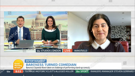 Editorial image of 'Good Morning Britain' TV Show, London, UK - 04 Mar 2021