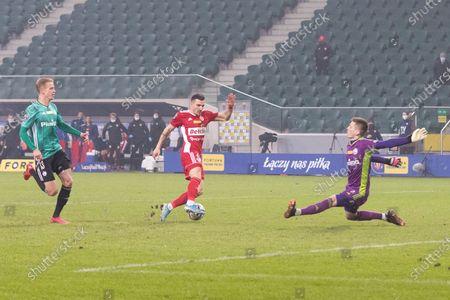 Editorial picture of Legia Warsaw v Piast Gliwice - Polish Cup: Quarter-final, Poland - 03 Mar 2021
