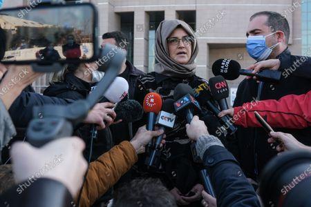 Editorial photo of Turkey holds absentia trial of 20 Saudis over Jamal Khashoggi murder, Istanbul - 04 Mar 2021