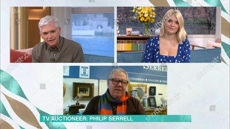 Phillip Schofield, Holly Willoughby, Philip Serrell