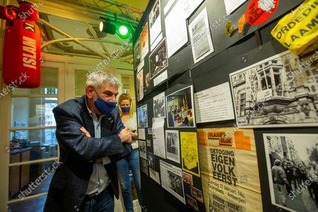 Editorial photo of Politics Vlaams Belang 40 Years, Antwerp, Belgium - 04 Mar 2021