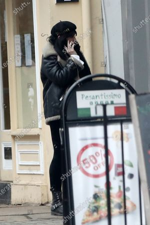 Editorial picture of Daisy Lowe out and about, London, UK - 04 Mar 2021
