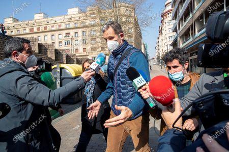 Editorial picture of Inaki Urdangarin returns to work, Vitoria, Spain - 04 Mar 2021