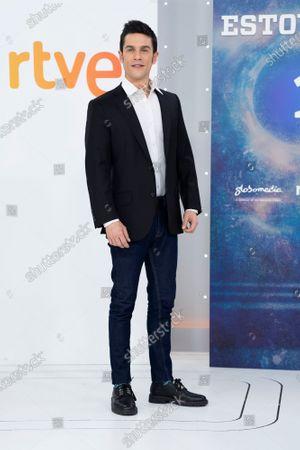 Actor Alejo Sauras seen during the 'Estoy Vivo' photocall at RTVE.