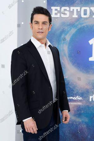 Stock Photo of Actor Alejo Sauras seen during the 'Estoy Vivo' photocall at RTVE.