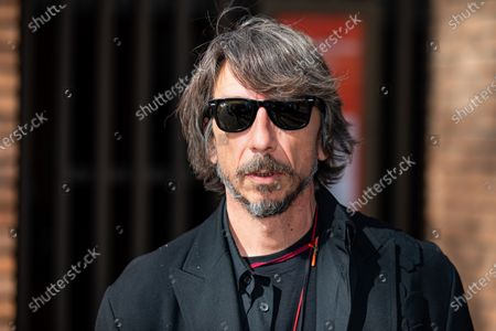 Pierpaolo Piccioli attends the Valentino fashion show during Milan Fashion Week Fall/Winter 2021/2022 on March 01, 2021 in Milan, Italy