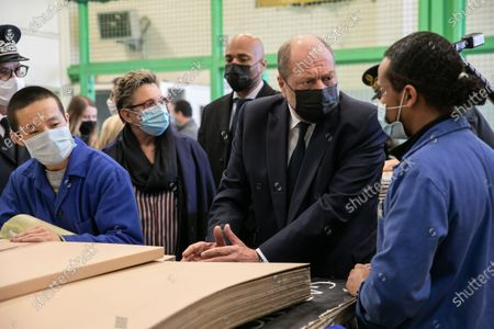 Editorial picture of Eric Dupont-Moretti visit to Villepinte prison, France - 04 Mar 2021