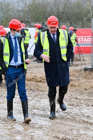 Editorial picture of Beyers Factory expansion, Brussels, Belgium - 04 Mar 2021