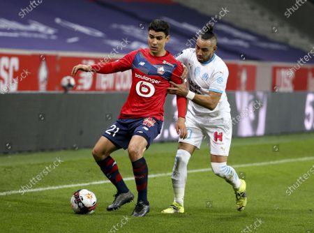 Benjamin Andre of Lille, Dimitri Payet of Marseille