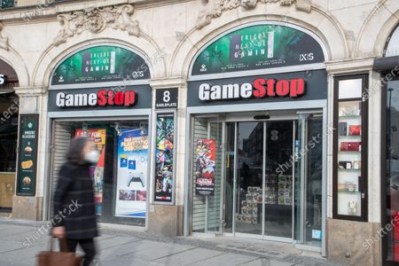 A Gamestop branch. The GME stock is very volatile, beause social traders from Reddit buy the stock and Hedgefunds like D1 Capital funds or Melvin Capital short the stock and Melvin lost billions.