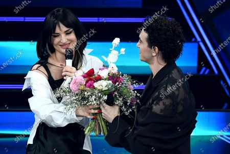 Editorial photo of 71st Sanremo Music Festival, Italy - 04 Mar 2021