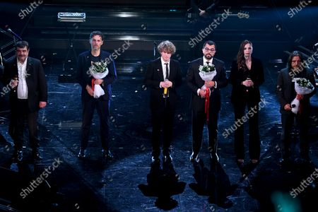 Editorial picture of 71st Sanremo Music Festival, Italy - 04 Mar 2021