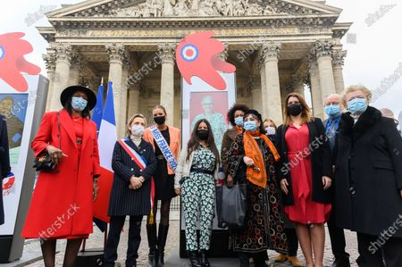 Editorial picture of Exhibition of 109 Mariannes, Paris, France - 04 Mar 2021