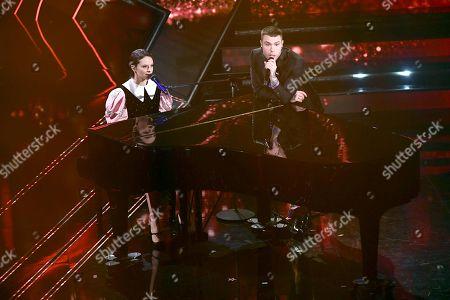 Editorial picture of 71st Sanremo Music Festival, Sanremo, Italy - 04 Mar 2021