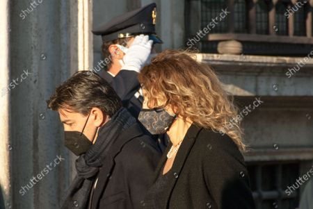 Stock Image of Minister Minister Erika Stefani during Meeting of the Council of Ministers outside Palazzo Chigi