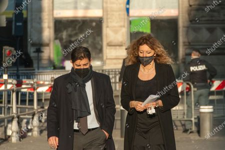 Minister Erika Stefani during Meeting of the Council of Ministers outside Palazzo Chigi