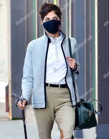 Editorial image of Selma Blair out and about, Los Angeles, USA - 04 Mar 2021