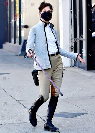 Editorial photo of Selma Blair out and about, Los Angeles, USA - 04 Mar 2021
