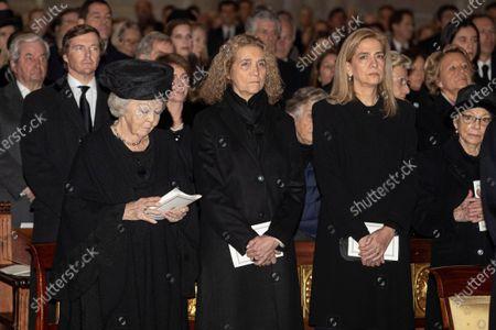 Editorial photo of Funeral of Infante Infanta Pila, Madrid., Spain - 29 Jan 2020