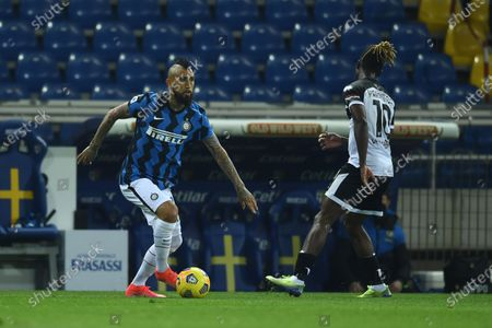 Editorial picture of Soccer: Serie A 2020-2021 : Parma 1-2 Inter, Parma, Italy - 04 Mar 2021