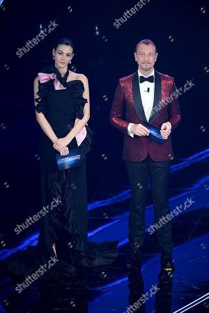 Stock Picture of Vittoria Ceretti and Amadeus