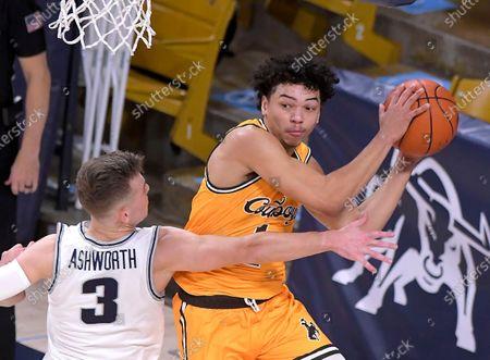 Editorial photo of Wyoming Utah St Basketball, Logan, United States - 04 Mar 2021