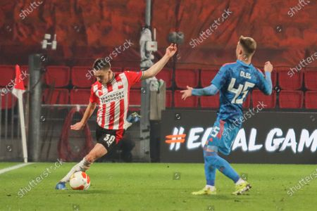 Editorial picture of PSV Eindhoven V Olympiakos Piraeus - UEFA Europa League Round Of 32 Leg Two, Netherlands - 25 Feb 2021