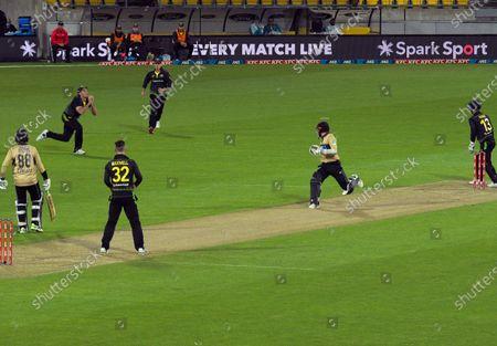 Editorial image of NZ Black Caps v Australia, International T20 Cricket, Sky Stadium, Wellington, New Zealand - 05 Mar 2021