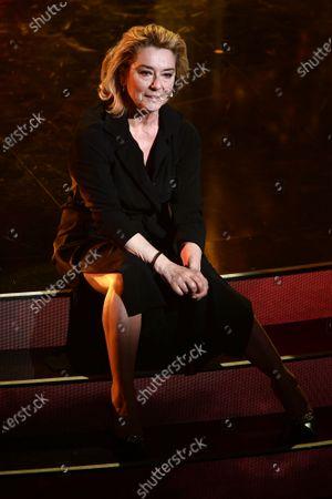 The actress Monica Guerritore