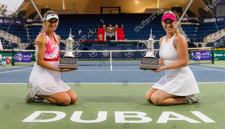 Editorial photo of Dubai Duty Free Tennis Championships, The Dubai Duty Free Tennis Stadium, Dubai, United Arab Emirates - 13 Mar 2021