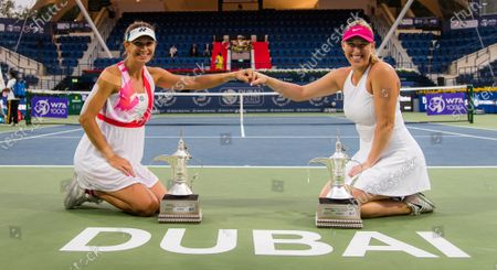 Editorial picture of Dubai Duty Free Tennis Championships, The Dubai Duty Free Tennis Stadium, Dubai, United Arab Emirates - 13 Mar 2021