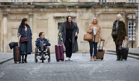 Shelley Conn as Hilary O'Doyle, Sharon Rooney as Doreen Warren, Joy McAvoy as Angela Mcgruder, Maya Coates as Melissxa Mcgruder and Kat Ronney as Cath Taylor.