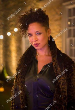 Stock Picture of Natalie Gumede as Deborah Winwick.