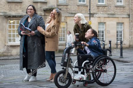 Sharon Rooney as Doreen Warren, Joy McAvoy as Angela Mcgruder, Maya Coates as Melissxa Mcgruder and Kat Ronney as Cath Taylor.