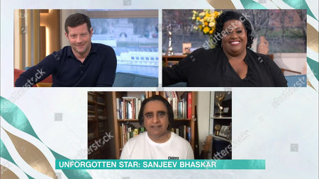 Dermot O'Leary, Alison Hammond and Sanjeev Bhaskar