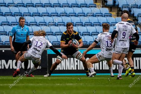 Editorial photo of Wasps v Gloucester, Gallagher Premiership, Rugby, Ricoh Arena, Coventry, UK - 06 Mar 2021